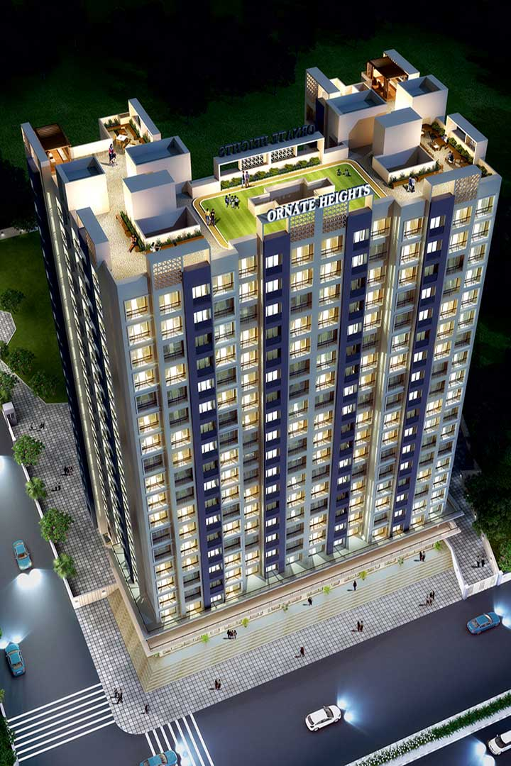 Ornate Heights Vasai Top Elevation